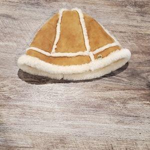 Ugg Sheep Skin  Lined Bucket  Hat O/S